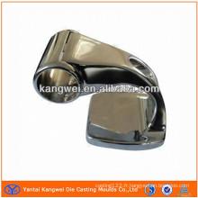 Pièce de moulage sous pression en zinc avec traitement de surface des plaques