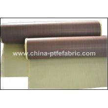 PTFE Fiberglass Fabric Self Adhesive 0.35T