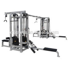 Hotsale precor commerical weight stack Multi Jungle 8-Station machine