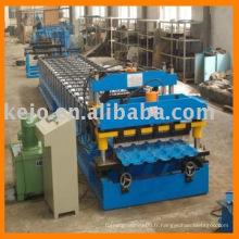 Machine de formage de carreaux vitré hydraulique