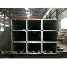 S355jo Черная отожженная квадратная стальная труба для строительства