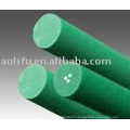 PU Round Belt Green rough surface