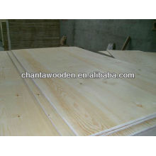 3-18mm radiata pine face/back poplar core commercial plywood