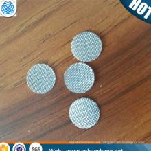 Asegure el comercio 150 tela sólida del metal del paño de filtro del acero inoxidable de la malla del auricular de la malla