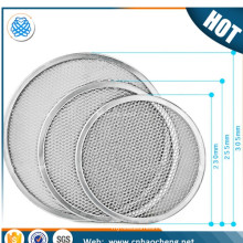 stainless steel pizza screen/aluminium expanded mesh disc for pizza maker