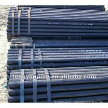 ASTM A106 GR B Tubo sin costuras