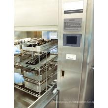 Lavadora automática de cristalería de acero inoxidable
