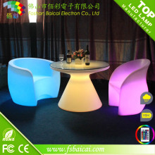 Rechargeable Battery LED Fancy Bar Stools