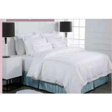 5Star Hotel 3cm Stripe White Bed Linen