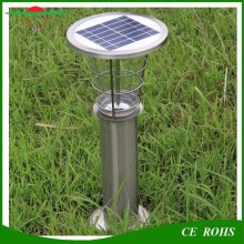 Al aire libre de aluminio duradero 2W impermeable inalámbrico solar jardín césped luz IP65 Lanscape solar lámpara de patio Villa