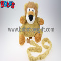 """11.8""""Lovely Yellow Plush Lion Children Backpack Children Not Lost Bags Bos-1238/30cm"""