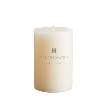 Wholesale scented pillar candles,traditional decorative luxury custom white religious pillar candle