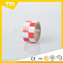 Self-Adhesive Checked Reflective Tape In PVC Material