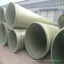 Tratamiento de superficie ISO y agua de mar, aguas residuales, tubería de aplicación de agua potable FRP / GRP