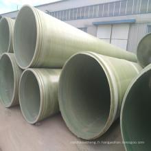 Traitement de surface ISO et eau de mer, eaux usées, eau potable Tuyau FRP / GRP