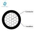O PVC quadrado do núcleo de 4 milímetros de alumínio isolou o único cabo do núcleo do fio 16mm2