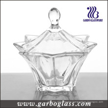 Clear Glass Candy Jar (GB1832BJX)