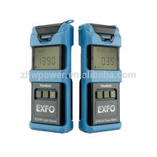 Medidor de potencia óptico Fuente de luz ELS-50, medidor de potencia de la fuente de luz óptica de fibra EXFO SM-MM OTDR 850/1300/1310 nm 24/25/32 / 30dB