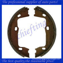 GS8223 1605938 1605686 1605897 1605921 4838660 4836441 4543419 90273259 for opel saab vauxhall brake shoe
