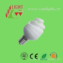 T2 compacto completo espiral 3W CFL, luz de poupança de energia