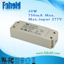 UL-Treiber 30W 750mA 40V LED-Panel Licht