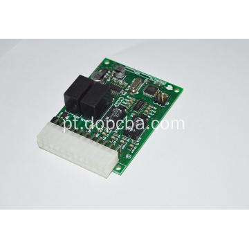 O dobro tomou partido placa Multilayer FR4 94v0 de ROHS PCBA