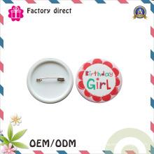 Décorations de Noël Artisanat Fabriqué en Chine Pin Badge en métal