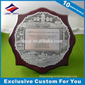 Custom metal wood awards made in China