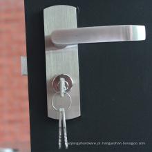 Material de construção Segurança de material de aço inoxidável na fechadura das portas de placa