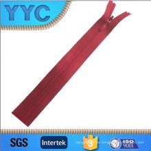 3 # Yyc cremallera color plástico cremallera doble forma cremallera