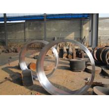 Anéis forjados da laminagem a quente S355j2g3, normalizando
