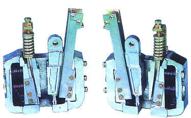 Elevador Safety Gear, PB167 10mm 16mm 2.0m / s Velocidade nominal