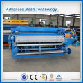 Spot welding full automatic steel wire roll mesh making machine