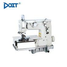 "DT2000C 1/4"" Needle Guage flat lock sewing machine price Chainstitch beltloop Sewing Machine for Waistband"