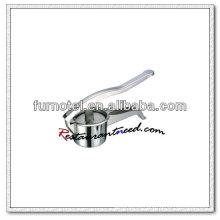 U180 Pressão de suco manual de aço inoxidável 90mm