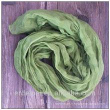 Tissu écharpe en polyester de haute qualité