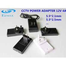 12V 4A Универсальный адаптер питания cctv с адаптером питания