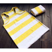 Ladies Nylon Knitted Seamless Strip Vest