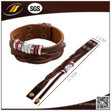 Bulk Calf Leather Bracelet Clasp
