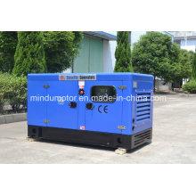 Gerador diesel de 10kVA Yangdong com dossel silencioso