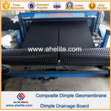 Géotextile composite de géomembrane de Dimple de HDPE