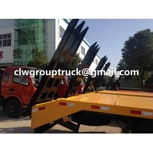 Dongfeng Tianjin Flatbed Trailer Truck For Sale