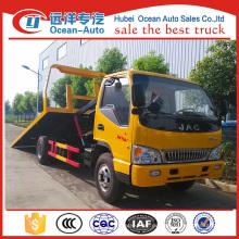 JAC 4x2 light rotator wrecker towing truck zum Verkauf