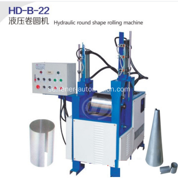 Hydraulic round sharpe rolling machine