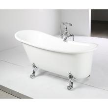 Banheira de banheira acrílica clássica de olhar (JL624)