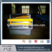 Alibaba High Quality Automatic Steel Roof And Wall Double Layer Roll Forming Machine for Steel Construction