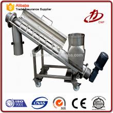 Profesional Fabricante de gran ángulo de larga distancia en polvo cinta transportadora