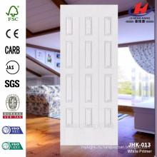 JHK-013 Горячий дизайн продажи МДФ белой грунтовки с хорошим качеством и конкурентоспособной цене дверь панели