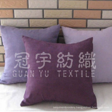 100% Polyester Faux Micro Suede Fabric for Cushion