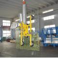 Insulating glass cantilever crane